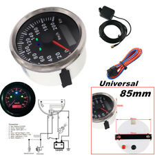 85mm 200km/h Motorcycle GPS speedometer Odometer Kit for Boat Car Universal IP67