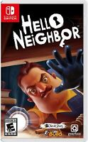 Hello Neighbor (Switch, 2018) Brand New Factory Sealed