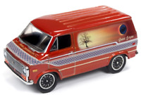 A.S.S NEU Johnny Lightning 1/64 Chevrolet Van 1975 Racing Champions Mint