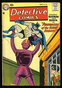 Detective Comics (1937) #258 GD 2.0