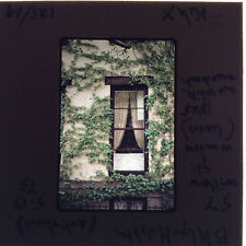 35MM Slide 57 Willow St Brooklyn Heights NYC NY Window Ivy Brownstone 1973 Vtg