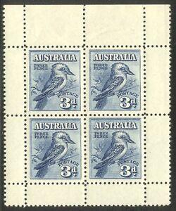 AUSTRALIA #95a Mint NH - 1928 3p Melbourne S/S ($260)