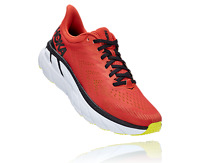 HOKA ONE ONE CLIFTON 7 Men's Scarpe Uomo Running CHILI BLACK 1110508 CLBLC