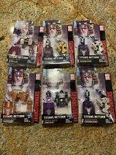 Transformers Titans Return Titan Masters Lot Of 6: Clobber Ape face Ramhorn, Etc