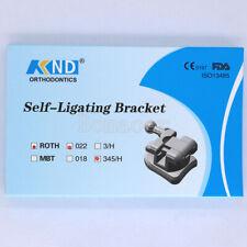 Dental Orthodontic Self Ligating Bracket Brace Roth 022 345 Hooks Amp Buccal Tubes