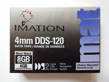 Imation 4 mm DDS-120 DDS2/DDS-2 Data Tape/Cartridge 4/8GB Nuovo