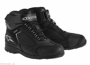 Alpinestars SIERRA GORE-TEX Black WP Motorbike/Scooter Short Ankle Boots/Shoe