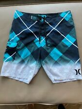 New listing Men's Hurley swim trunks/ board shorts size 34 Excellent Used Condition