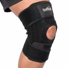 EXOUS Knee Brace Support Protector NO SLIP FIT for Arthritis Sports Run One Size