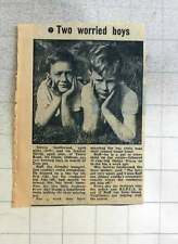 1960 Stephen Southwood And Brother David, Alt Estate Oldham Looking For Pet
