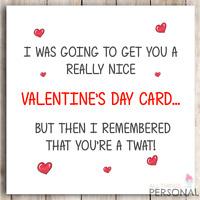 Funny Valentines Day Card Rude Adult Joke Card for Boyfriend Husband Valentine's