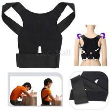 New Back Posture Corrector Support Sport Correction Lumbar Shoulder Brace Belt