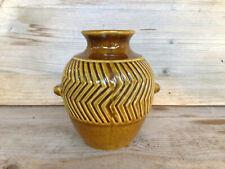 JASBA Vase / Mid-Century Vintage German Pottery / sign/size N61211/13 cm