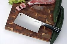 Professional Stainless Steel Chef Butcher Knife Heavy Duty Meat Cleaver Chopper