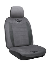 RM Williams Suede - Grey - Tailor Made Car Seat Cover To Suit Your Vehicle