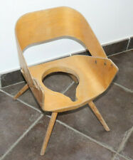 Fauteuil chaise pot enfant Vintage design sans sa bassine