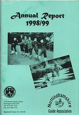 NOTTINGHAMSHIRE GUIDE ASSOCIATION ANNUAL REPORT 1998/99