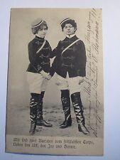 Wir sind zwei Burschen vom fröhlichen Corps - 1903 / Kinder als Studenten