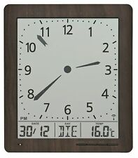 Ams -funk-wanduhr 24cm- 5893 Modern Wall Clock with Funkwerk, Radio Clock,