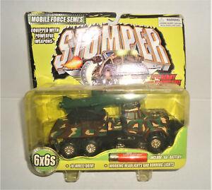 RARE Vintage Stomper Military Semi Mobile Force Peterbilt MISSILE TRUC ROAD KING