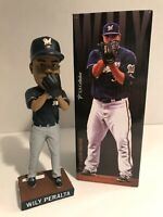 Wily Peralta 2015 Milwaukee Brewers Bobblehead MLB - New in Box