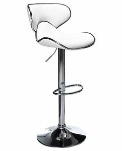 BRAND NEW UNIQUE HORSE BAR STOOL CAFETERIA CHAIR - WHITE