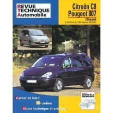 C8 807 02- Revue Technique Citroen Peugeot Etat - NEUVE PORT 3 Euro France