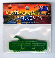 Melbourne Tram Magnet,Green Bottle Opener from Australia
