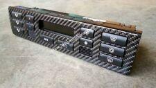 BMW E46 / E46 M3 carbon fiber Automatic Air Control Unit Panel