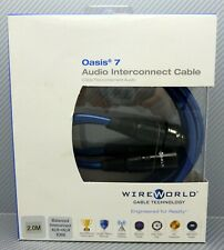WireWorld Oasis 7 XLR Audio Interconnect cable pair