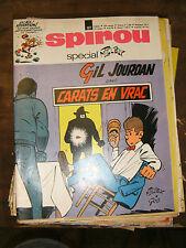 Spirou N° 1677 1970 BD Spécial Tillieux Gil Jourdan Avec son encart poster pub