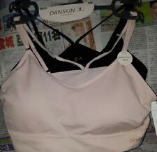 7b08caa7265bf New! Danskin 2Pack Seamless Comfort Bras Removable Pads Large Soft  Pink Black