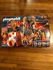 Playmobil 70221 Novelmore Burnham Raiders Fortress New But Totaled Box