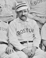 1889 Boston Red Stockings CHARLES 'Old Hoss' RADBOURN Glossy 8x10 Photo Poster