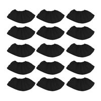 100Pcs Non-woven Shoe Cover Black Thick Disposable Non-woven Nonwoven Foot Cover