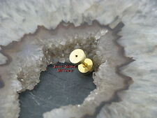 Fake piercing plug tunnel orecchini GOLDLINE 1,2mm orecchino