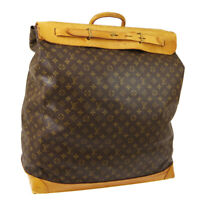 LOUIS VUITTON STEAMER 55 JUMBO TRAVEL HAND BAG PURSE MONOGRAM M41124 AK45176