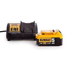 DEWALT DCB184+DCB115 Batteria 18V 5.0 Ah con Caricabatteria