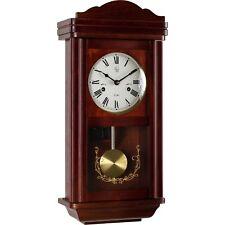 Wall Clock Pendulum Clock Watch Regulator in Mahagoni Style Pendulum