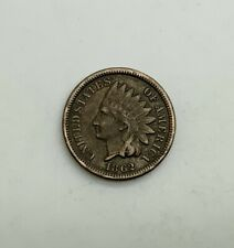 1862 Civil War Date Copper  Nickel   Indian Head Cent Sharp Devices
