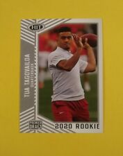 Tua Tagovailoa Alabama Crimson Tide 2020 Sage HIT Rookie #13 Silver Parallel