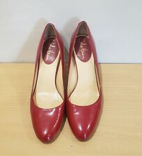 Cole Haan NikeAir Women's Red Patent Leather Pumps Heels Size 8 B