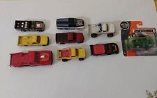 Matchbox Hot Wheels Ertl Cars Pickup Trucks Diecast Metal Lot Yellow Red