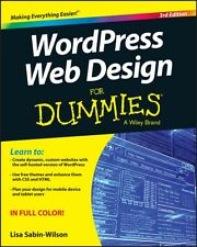WordPress Web Design For Dummies (Paperback), Sabin-Wilson, Lisa, 9781119088646