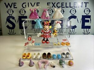 "Minnie mouse figure fashion playset Mini Figures 3"" Rare"