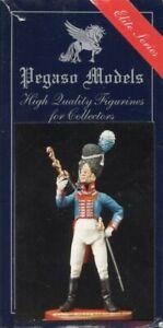 Pegaso Models 54mm Bavarian 2nd Lieutenant Grenadier Guards 1815 Figure #54-082U