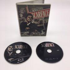Scarface Blu-ray DVD 2 Disc Set No Digital STEELBOOK MOVIE Al Pacino