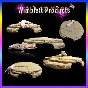 Reptile Sand Effect Cave & Hide For Geckos, Snakes, Lizards, Spiders, Insects