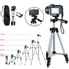 Professional Camera Tripod Stand Holder Mount For iPhone Samsung Cell Phone+ Bag