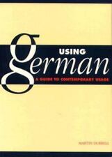 NEW - Using German: A Guide to Contemporary Usage by Durrell, Martin